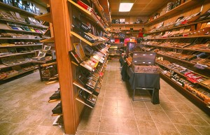 Madison Cigar Room Humidor